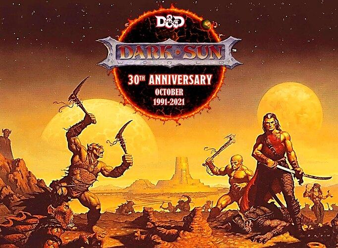 Dark Sun 30th Anniversary