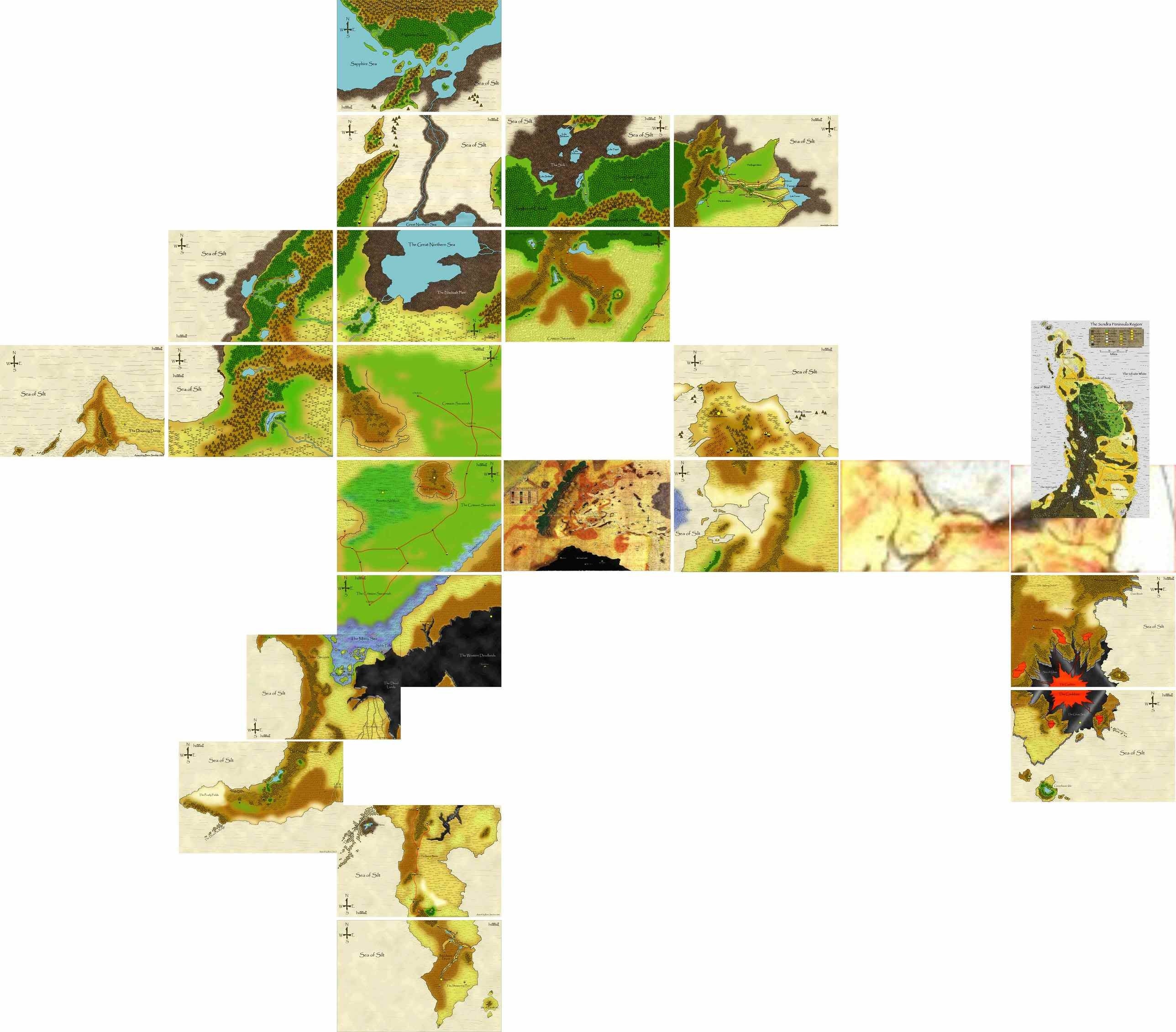 World maps for Athas   Setting   Arena